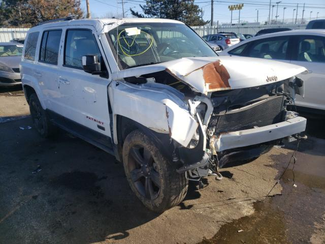 Vehiculos salvage en venta de Copart Moraine, OH: 2016 Jeep Patriot SP
