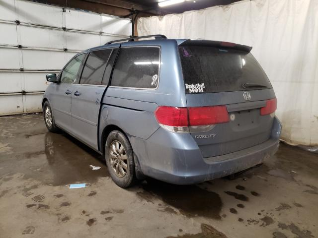 2010 HONDA ODYSSEY EX - Right Front View