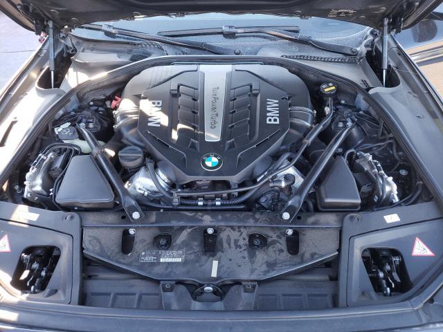 2014 BMW 550 I - Interior View