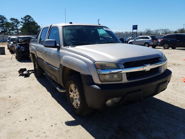 Salvage cars for sale from Copart Newton, AL: 2004 Chevrolet Avalanche