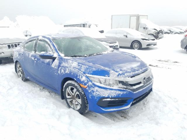 Salvage cars for sale from Copart Montreal Est, QC: 2017 Honda Civic