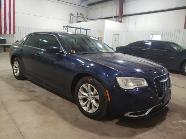 Salvage cars for sale from Copart Lufkin, TX: 2015 Chrysler 300 Limited