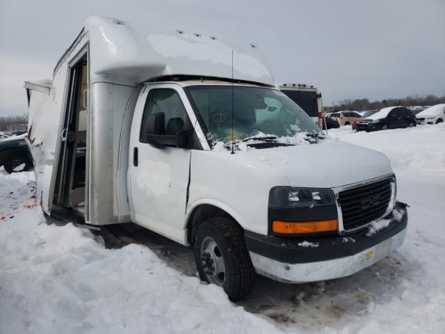 Salvage cars for sale from Copart Central Square, NY: 2017 GMC Savana CUT