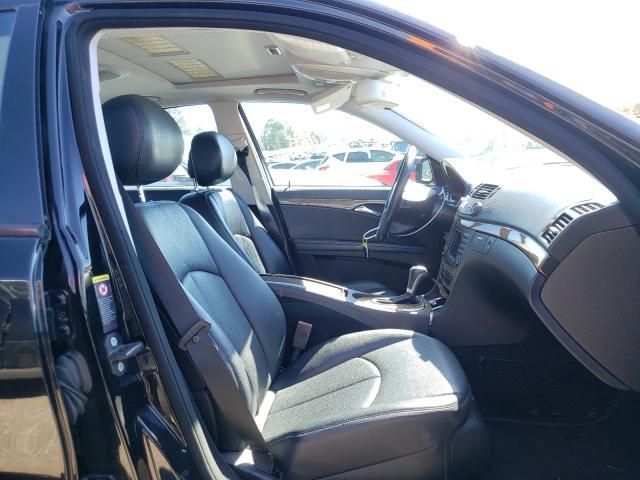 2007 MERCEDES-BENZ E 350 - Left Rear View