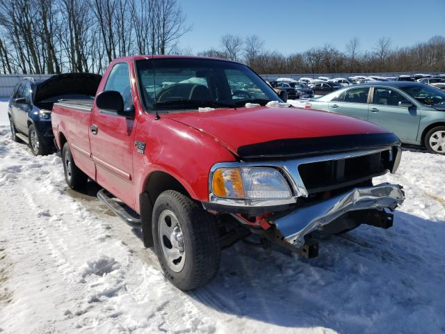 Salvage cars for sale from Copart Milwaukee, WI: 1999 Ford F150