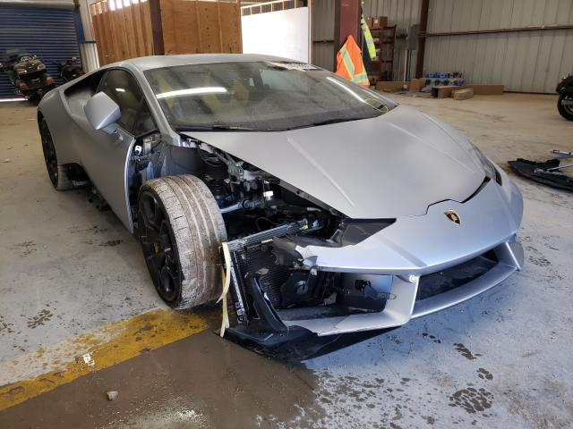 Lamborghini salvage cars for sale: 2019 Lamborghini Huracan