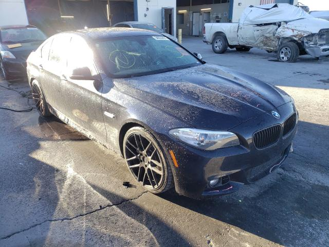 Salvage cars for sale at Anthony, TX auction: 2014 BMW 550 I