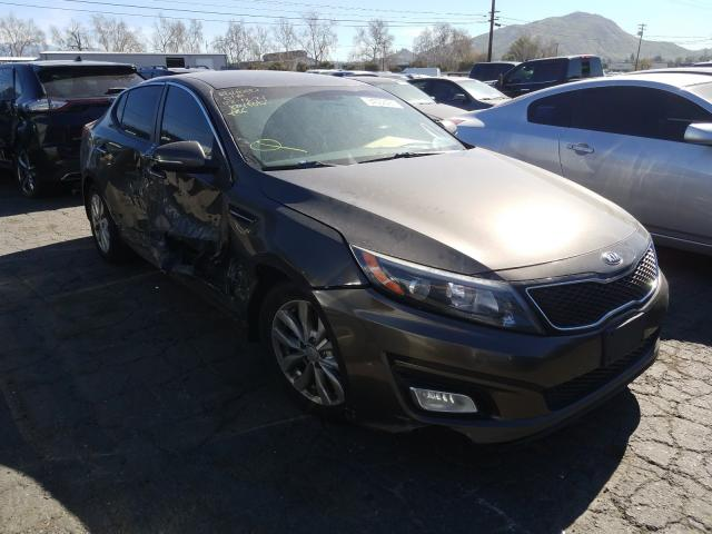 Salvage cars for sale from Copart Colton, CA: 2014 KIA Optima LX