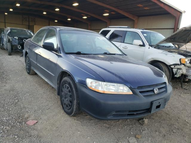 Salvage cars for sale from Copart Houston, TX: 2002 Honda Accord VAL