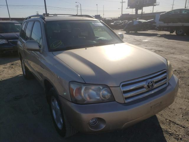 Toyota salvage cars for sale: 2005 Toyota Highlander