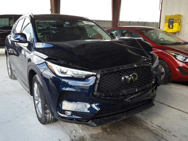 Salvage cars for sale from Copart Homestead, FL: 2020 Infiniti QX50 Pure