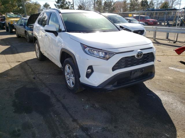 Salvage cars for sale from Copart Denver, CO: 2019 Toyota Rav4 XLE