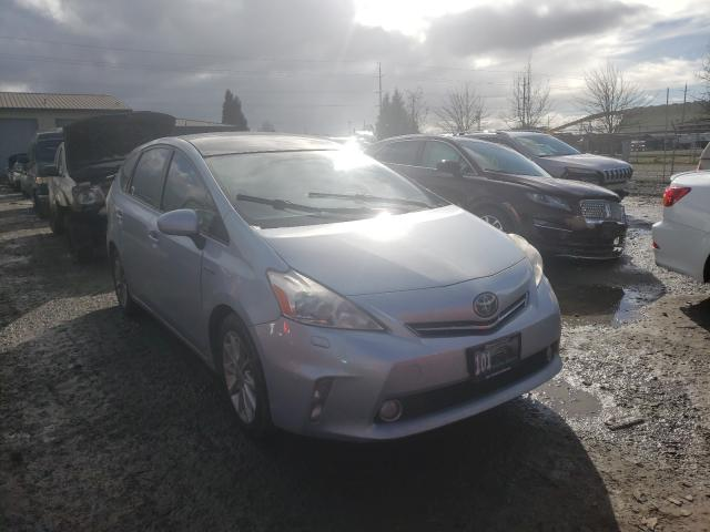 Salvage cars for sale from Copart Eugene, OR: 2012 Toyota Prius V