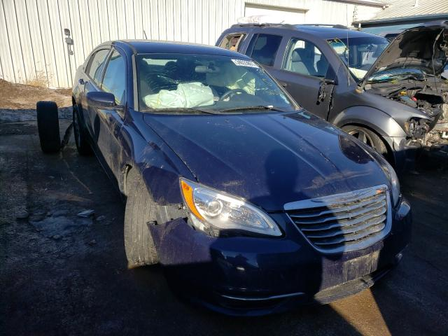 Salvage cars for sale from Copart Pekin, IL: 2013 Chrysler 200 LX