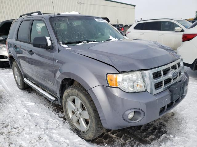 Ford salvage cars for sale: 2008 Ford Escape XLT