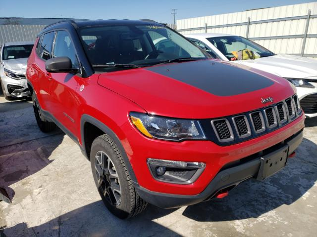 Salvage 2019 JEEP COMPASS - Small image. Lot 34812411