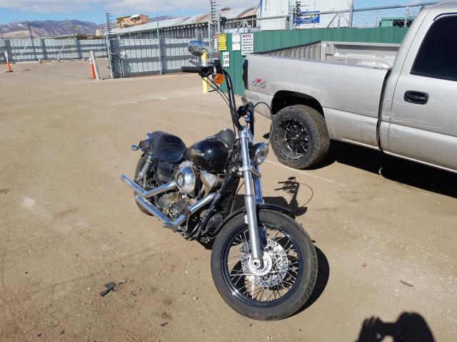 Salvage cars for sale from Copart Colorado Springs, CO: 2012 Harley-Davidson Fxdb Dyna