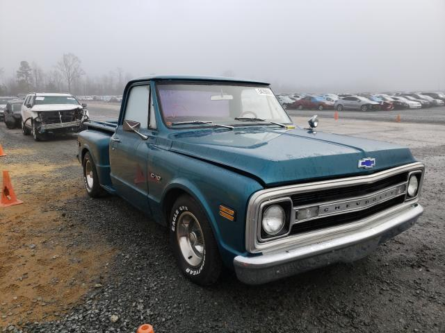 Chevrolet salvage cars for sale: 1970 Chevrolet C10