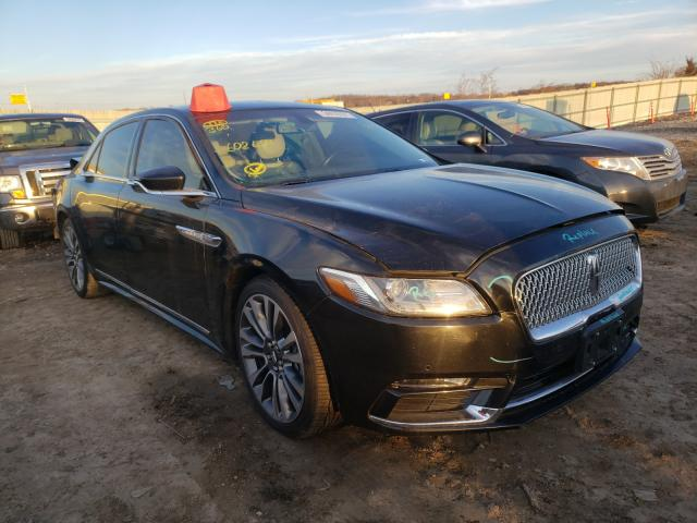 Lincoln Vehiculos salvage en venta: 2017 Lincoln Continental