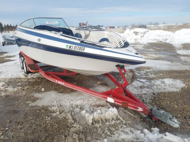 Salvage cars for sale from Copart Cudahy, WI: 2004 Crownline Boat Trlr