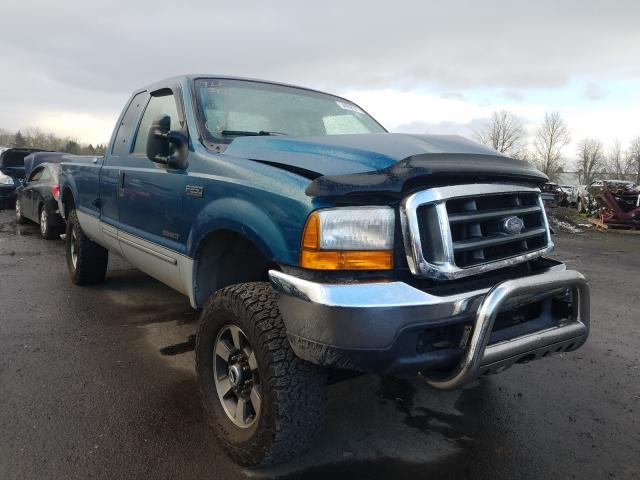 Salvage cars for sale from Copart Portland, OR: 2000 Ford F250 Super