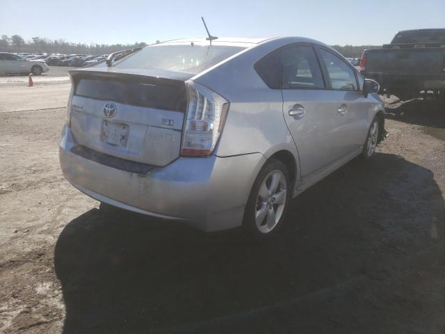 2011 TOYOTA PRIUS - Right Rear View