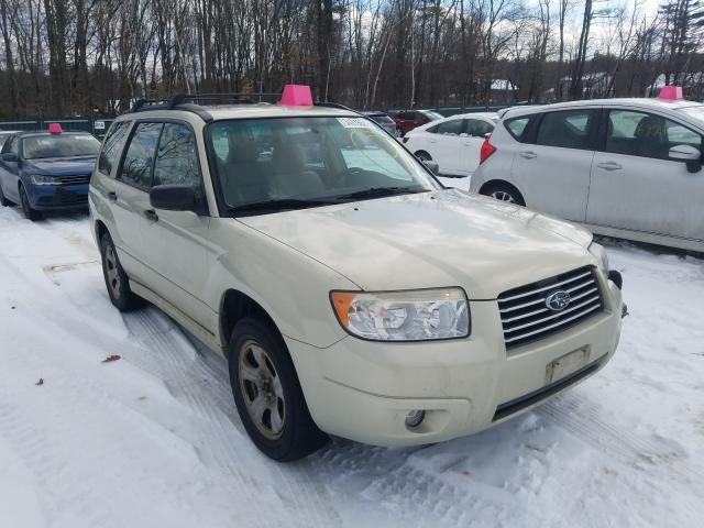 Salvage cars for sale from Copart Candia, NH: 2006 Subaru Forester 2