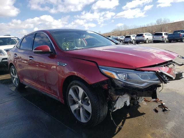 KIA salvage cars for sale: 2019 KIA Optima LX