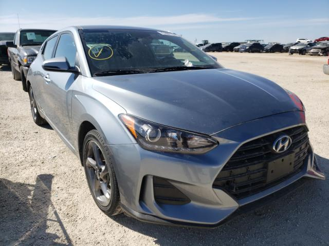 Salvage cars for sale from Copart San Antonio, TX: 2019 Hyundai Veloster B