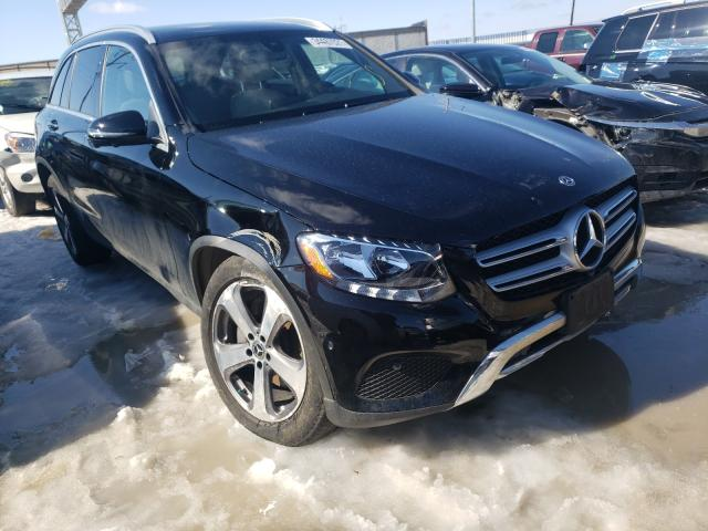 Salvage cars for sale from Copart Columbus, OH: 2018 Mercedes-Benz GLC 300 4M
