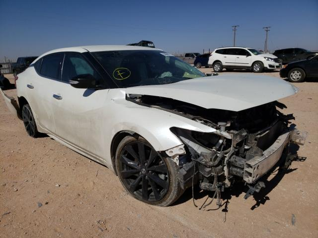 Salvage cars for sale from Copart Andrews, TX: 2017 Nissan Maxima 3.5