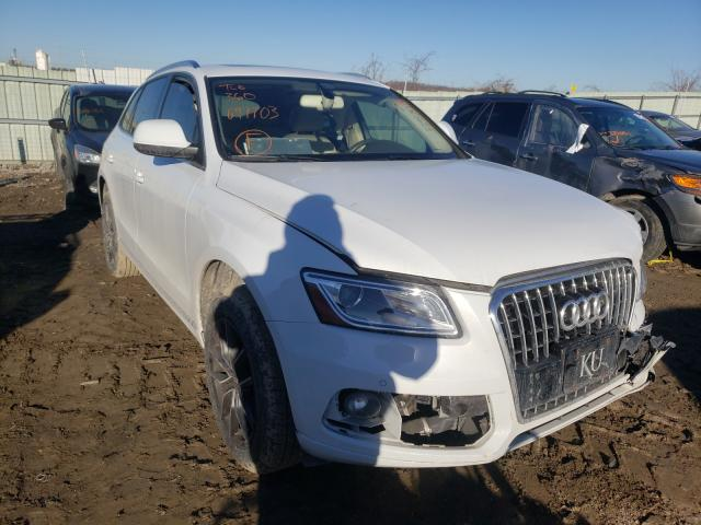 Salvage cars for sale from Copart Kansas City, KS: 2014 Audi Q5 Premium
