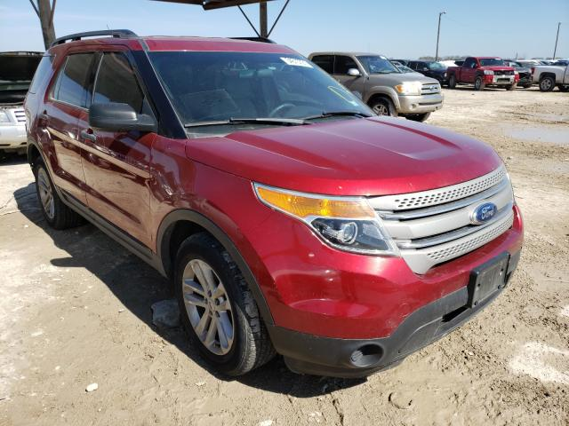 Salvage cars for sale from Copart Temple, TX: 2015 Ford Explorer