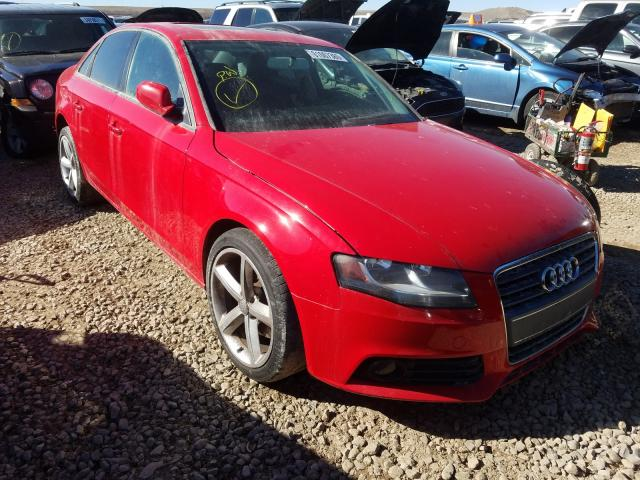 Salvage cars for sale from Copart Magna, UT: 2010 Audi A4 Premium