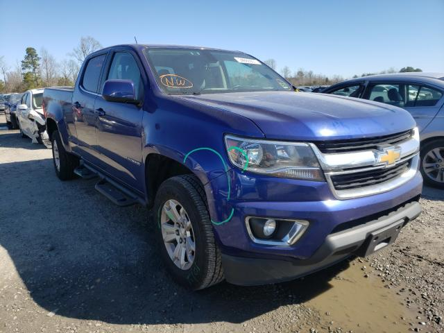 Salvage cars for sale from Copart Lumberton, NC: 2016 Chevrolet Colorado L
