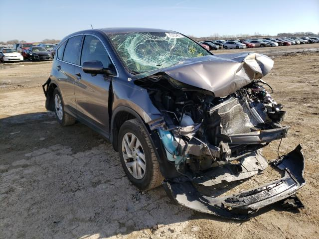 Salvage cars for sale from Copart Temple, TX: 2015 Honda CR-V EX