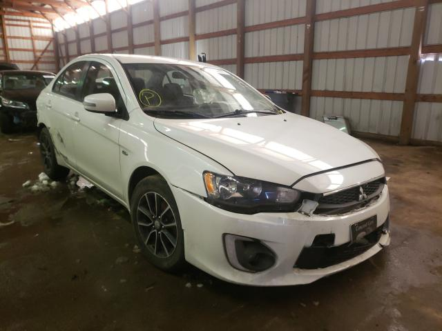 Salvage cars for sale from Copart Hammond, IN: 2017 Mitsubishi Lancer ES