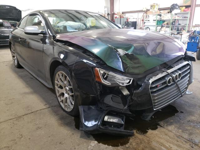 Salvage cars for sale from Copart Nisku, AB: 2013 Audi S5