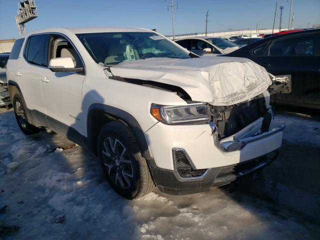Salvage cars for sale from Copart Columbus, OH: 2020 GMC Acadia SLE