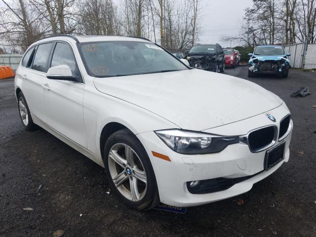 Salvage cars for sale from Copart Portland, OR: 2015 BMW 328 XI