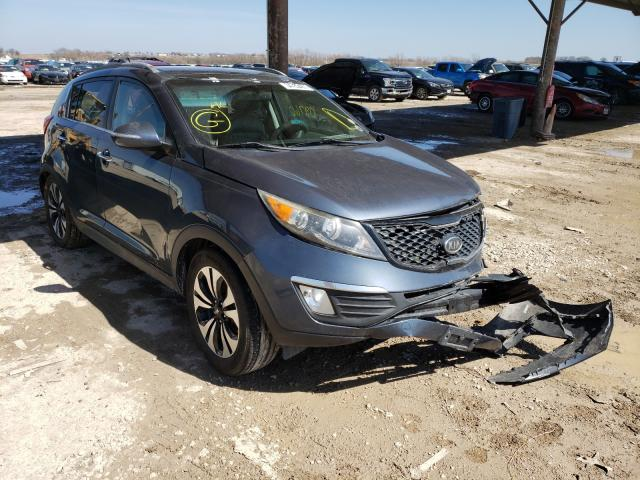 Salvage cars for sale from Copart Temple, TX: 2012 KIA Sportage S