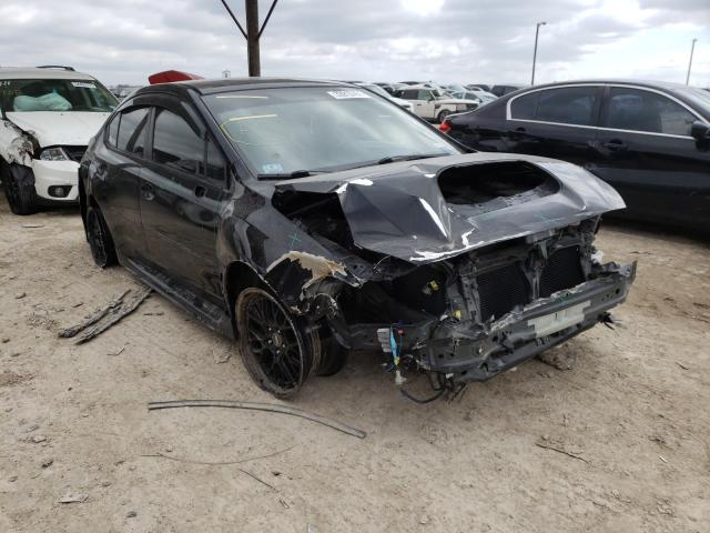 Salvage cars for sale from Copart Temple, TX: 2016 Subaru WRX Premium