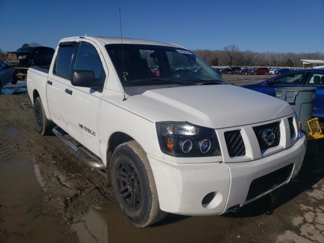 Salvage cars for sale from Copart Conway, AR: 2007 Nissan Titan XE