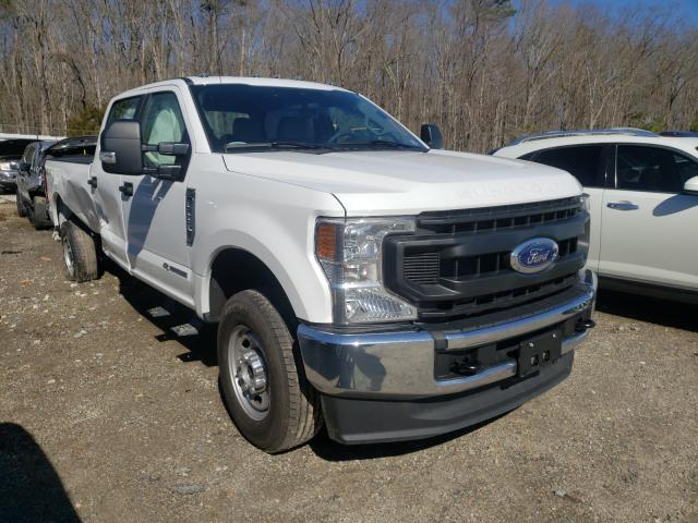 Salvage cars for sale from Copart Hampton, VA: 2020 Ford F250 Super