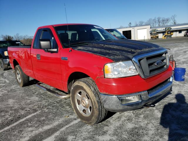 Salvage 2006 FORD F150 - Small image. Lot 34384741
