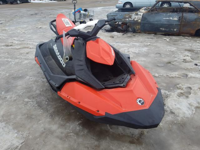 Salvage cars for sale from Copart Madison, WI: 2016 Seadoo Jetski