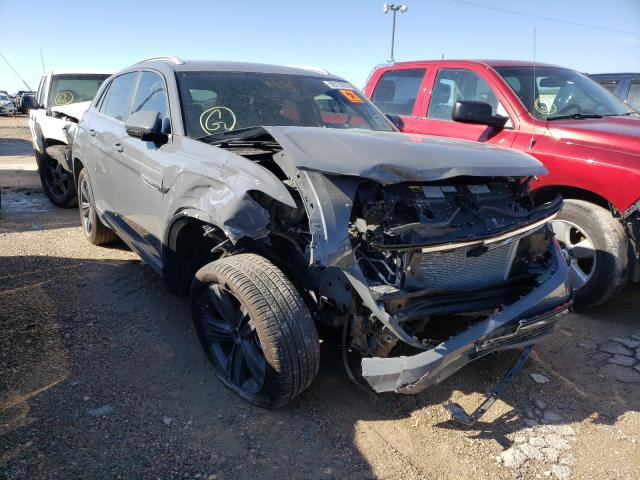 Salvage cars for sale from Copart Temple, TX: 2020 Volkswagen Atlas Cros