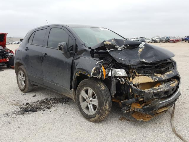 Salvage cars for sale from Copart San Antonio, TX: 2020 Chevrolet Trax LS