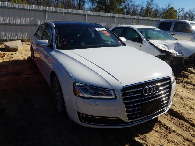 Salvage cars for sale from Copart Gaston, SC: 2016 Audi A8 L Quattro