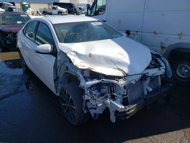 Salvage cars for sale from Copart Woodhaven, MI: 2017 Toyota Corolla L